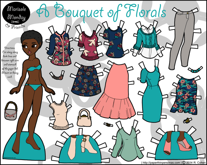 bouquet-of-florals-printable-paper-doll