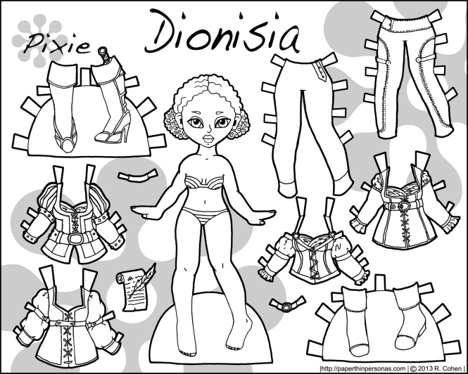 dionisia-paper-doll-bw