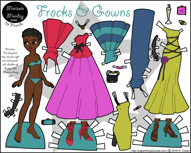 frocks-gowns-black-paper-doll