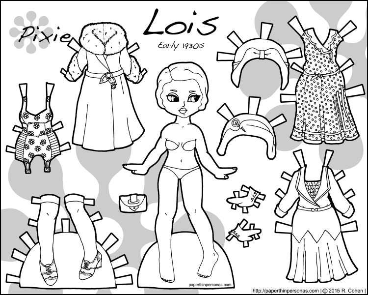 lois-1930s-early-paper-doll-bw