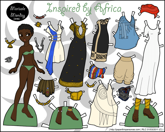 marisole-africa-paper-doll-150