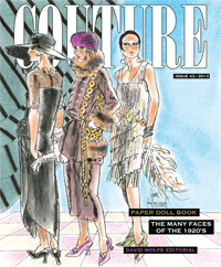 COUTURE: The Many Faces of the 1920s by Jim Howard published by Paper Studio Press
