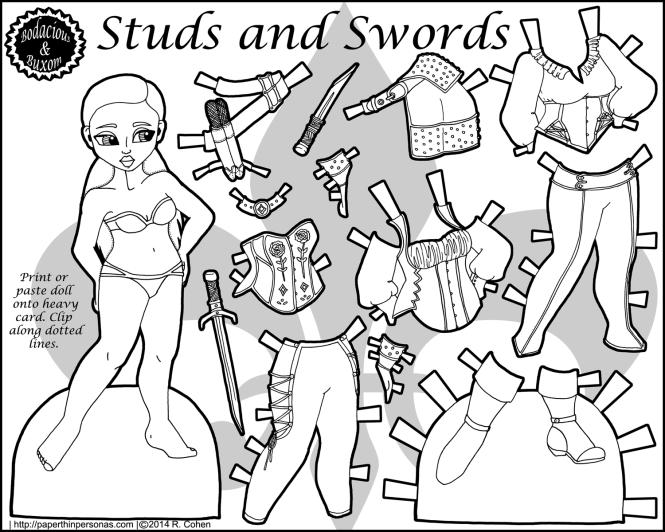 studs-paper-doll-black-white