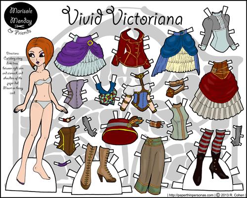 thumbnail-vivid-victoriana-marisole-monday-steampunk-paper-doll-melissa-smith