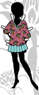 Ms. Mannequin Series Logo- Summer