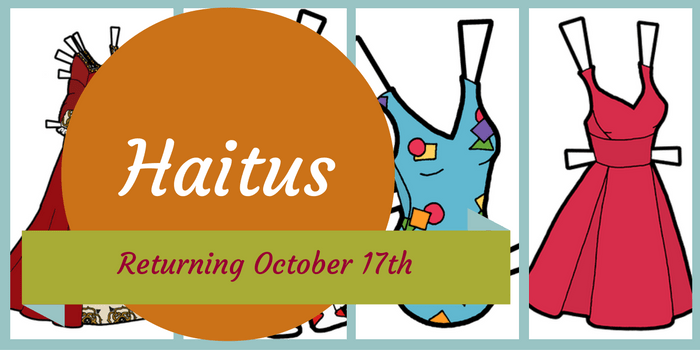 Haitus Until October 17th Banner