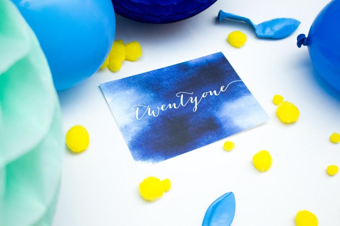 Custom birthday party invitation