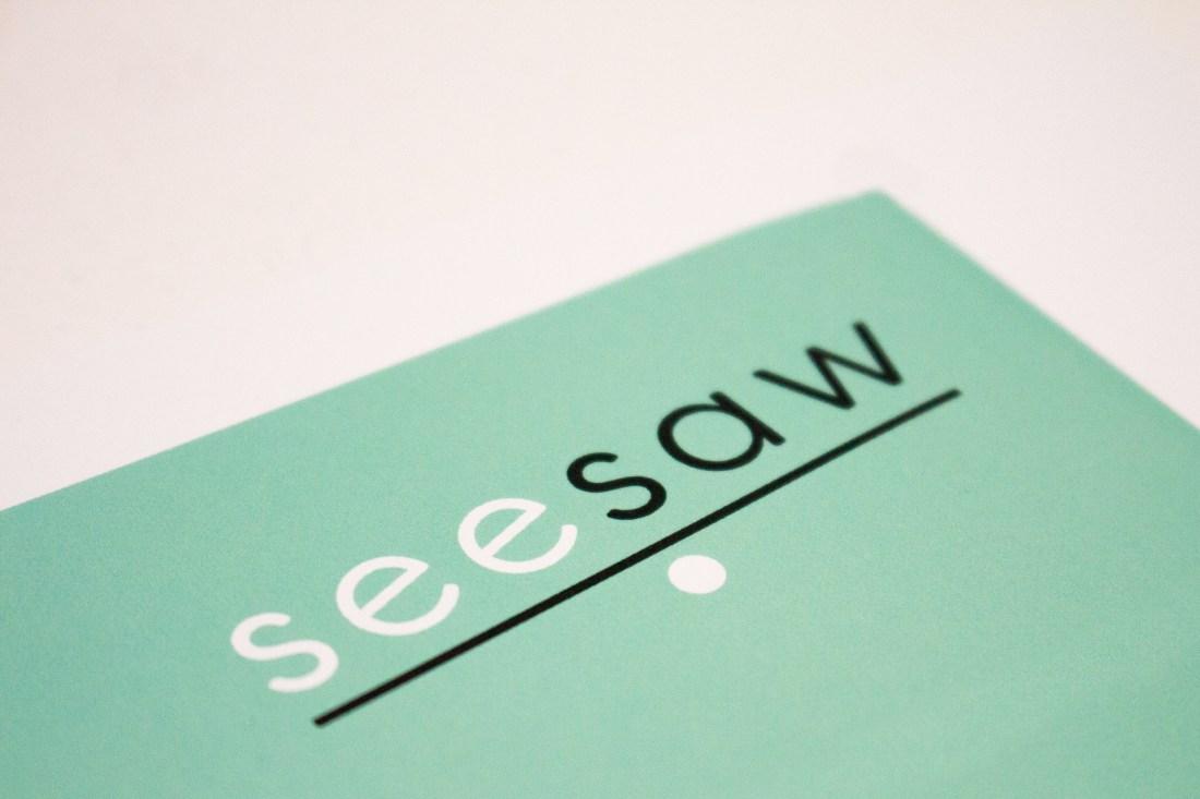Seesaw Business Cards Logo Design
