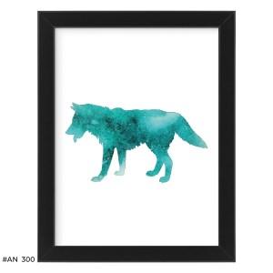 Plakat wilk – #AN300
