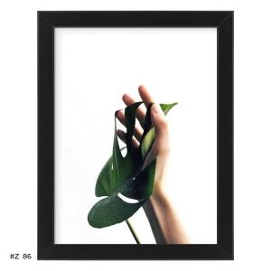 Plakat monstera w dłoni #Z086
