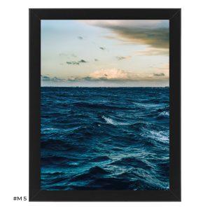 """Plakat """"widok na wybrzeże"""" #M5"""