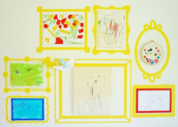 frame decals classroom display