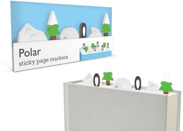 polar sticky page markers