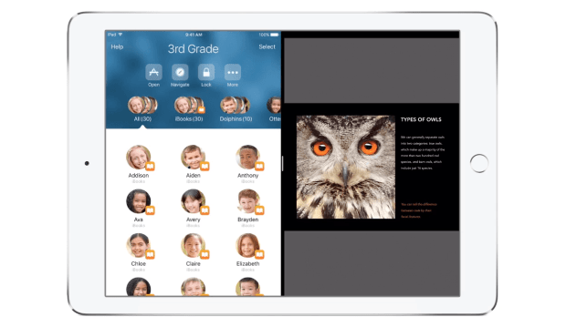 apple ipad classroom app multitasking