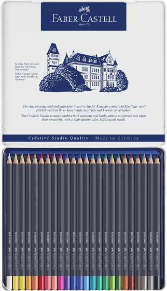 Crayon De Couleur Faber Castell : crayon, couleur, faber, castell, Crayons, Couleur, Faber-Castell, Goldfaber, Papeshop