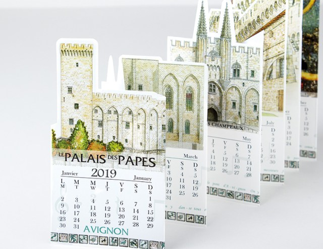 Calendari Troquelat Pocket