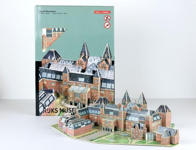 """Maqueta """"puzzle 3D"""""""