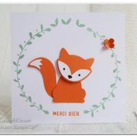 Foxy Friends: un set de tampon à tomber!!!
