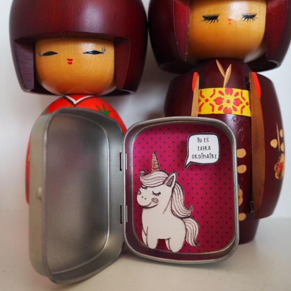 boite reconfort licorne extraordinaire - Boite Réconfort Minute Licorne Extraordinaire
