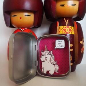 boite reconfort licorne extraordinaire - Boites à message