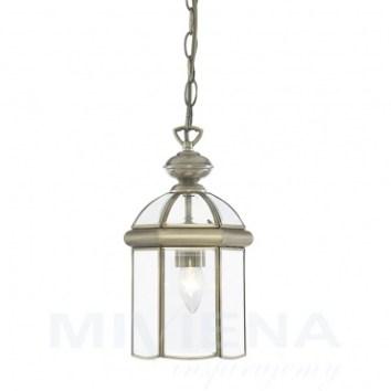 wisząca lampa jak latarenka / www.miviena.pl