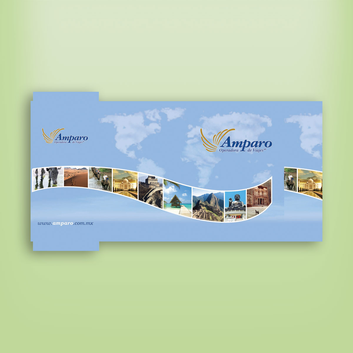 diseño de cartera para documentos Amparo