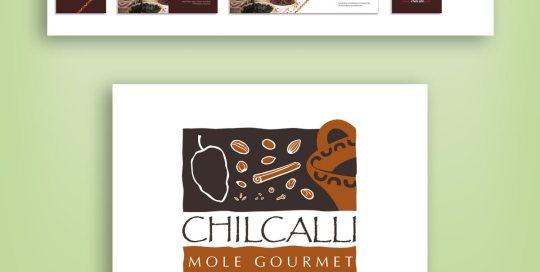 diseño de logotipo Chilcalli