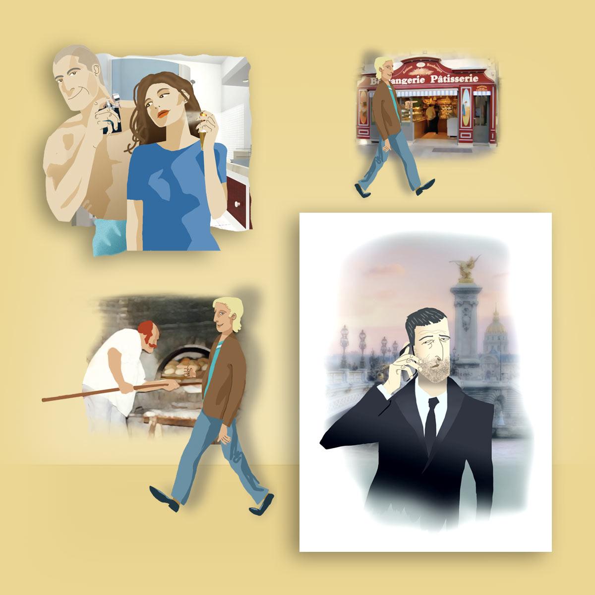 Ilustración libro Aspic