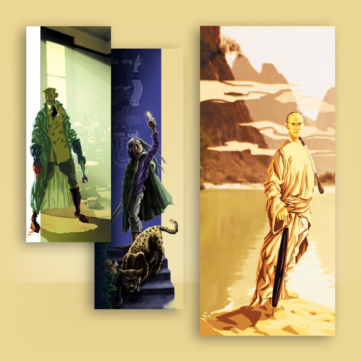 ilustración de personaje Arkeos