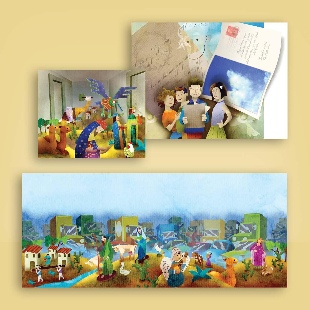 ilustración para libro infantil CIDCLI