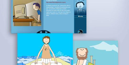 multimedia para e-learning fibromialgia