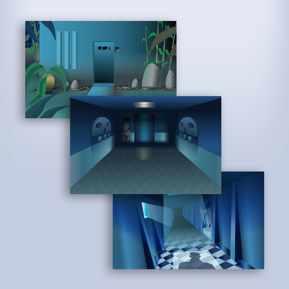 multimedia con animación Banamex