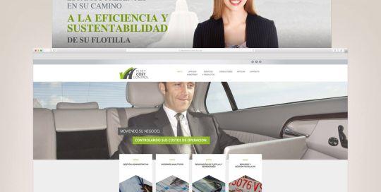 diseño web portal comercial