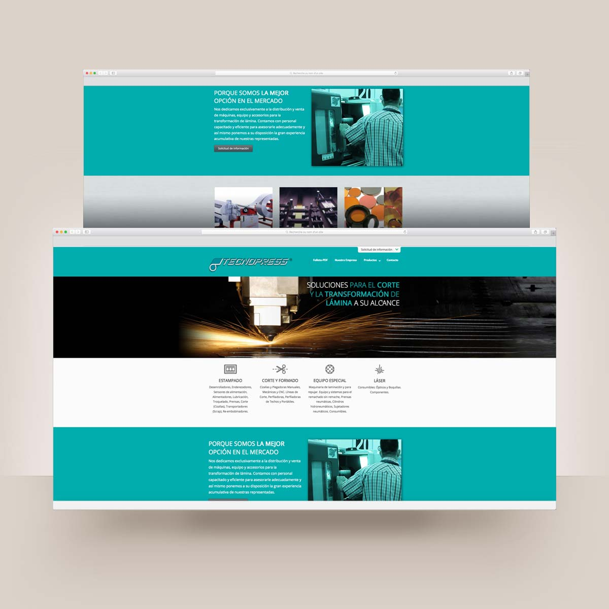 diseño web con CMS wordpress