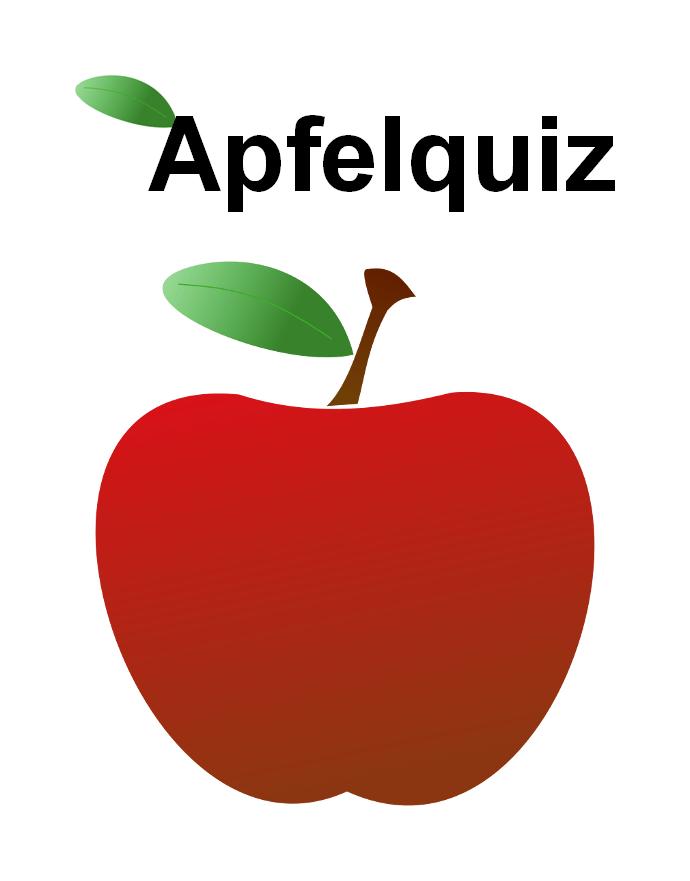 Apfel Basteln Bastelvorlage Vorlage - Vorlagen zum ...