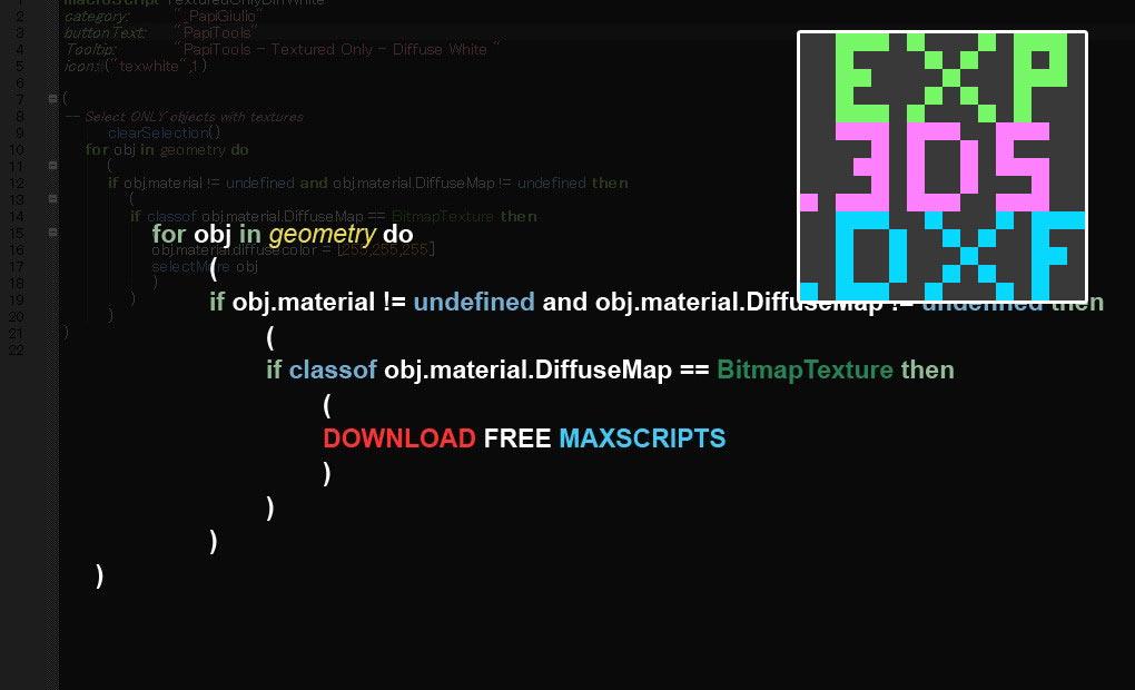 Free Maxscript Quick Exporter