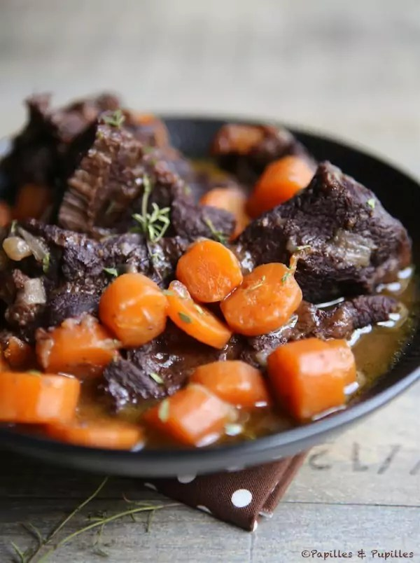 Daube Joue De Boeuf : daube, boeuf, Daube, Boeuf, Carottes, Rouge