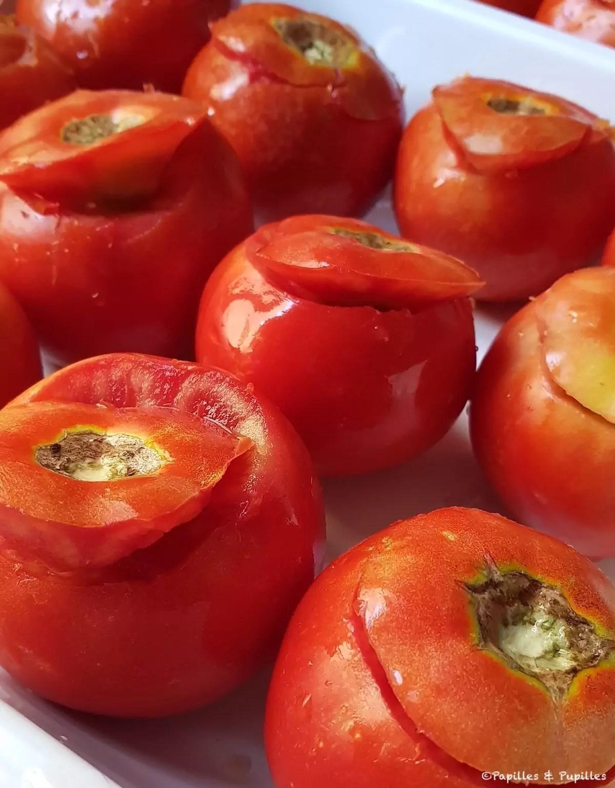 Congeler Des Tomates Farcies : congeler, tomates, farcies, Recette, Tomates, Farcies
