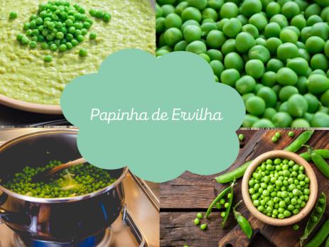 Papinha de Ervilha