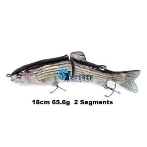 Leurre dur Swimbait 18cm 65.6g  2 Segments