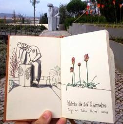Mário Sá Carneiro - Parque dos Poetas