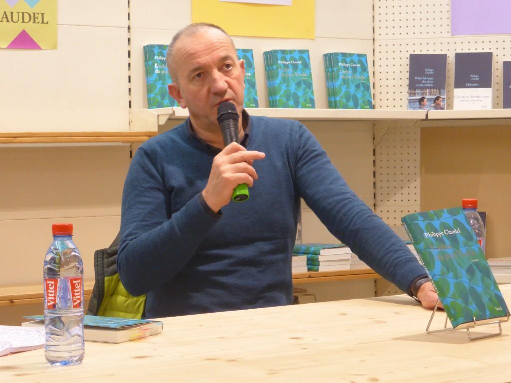 philippe claudel a la librairie nouvelle d orleans par papivore net