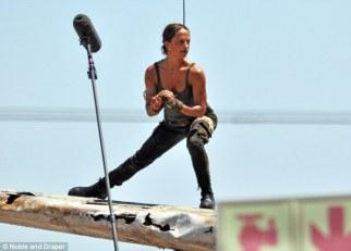 Alicia Vikander, Lara Croft 01