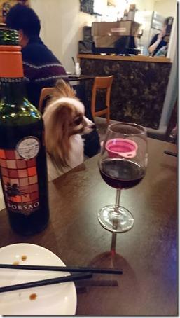 カフェアンドダイニングホラノアの赤ワイン