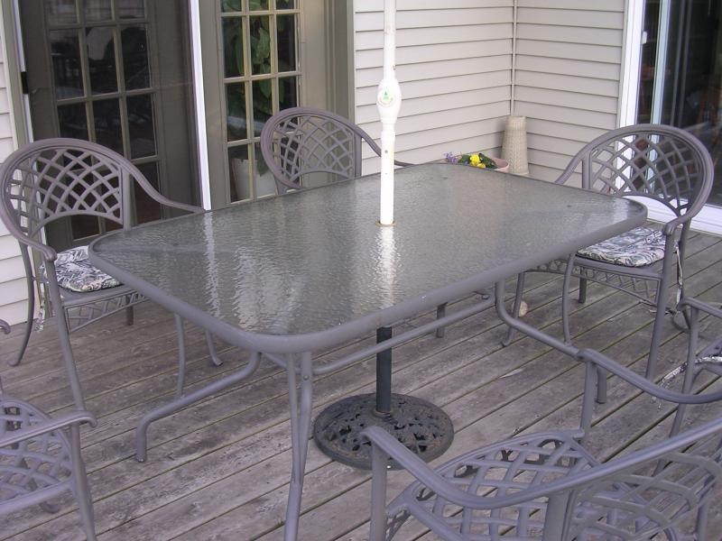patio table top p a plastics fabrication