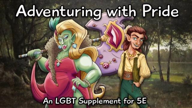 SUPLEMENTO LGBTQ+ PARA D&D5 É FINANCIADO EM 37 HORAS!