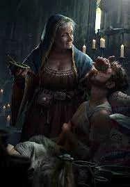 A mulher por trás de Geralt de Rivia!
