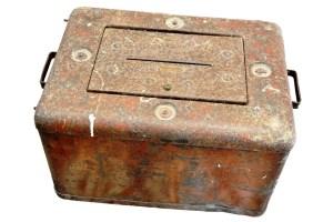urna de ferro usada em eleições