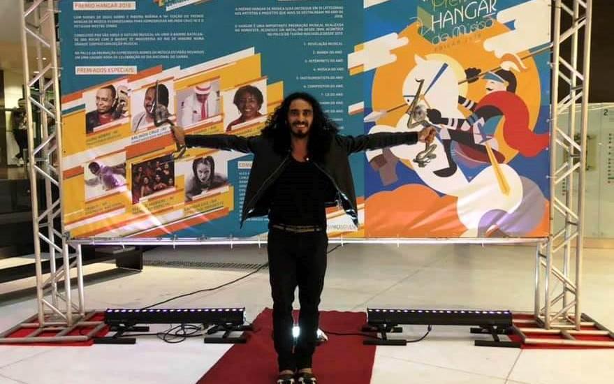 yrahn barreto no Prêmio Hangar