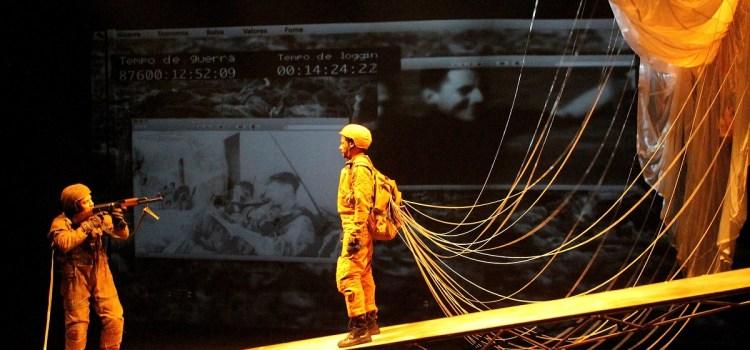 Casa da Ribeira recebe peça que questiona conflitos humanos em uma hipotética 3ª Guerra